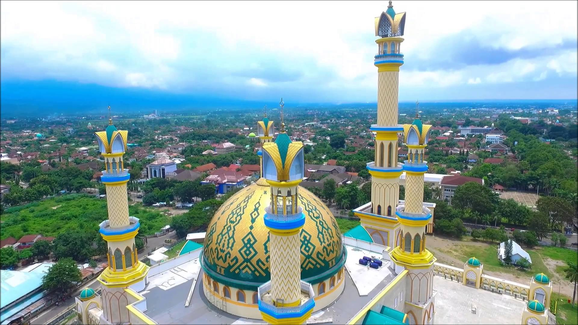 Mesjid Islamic Center Lombok