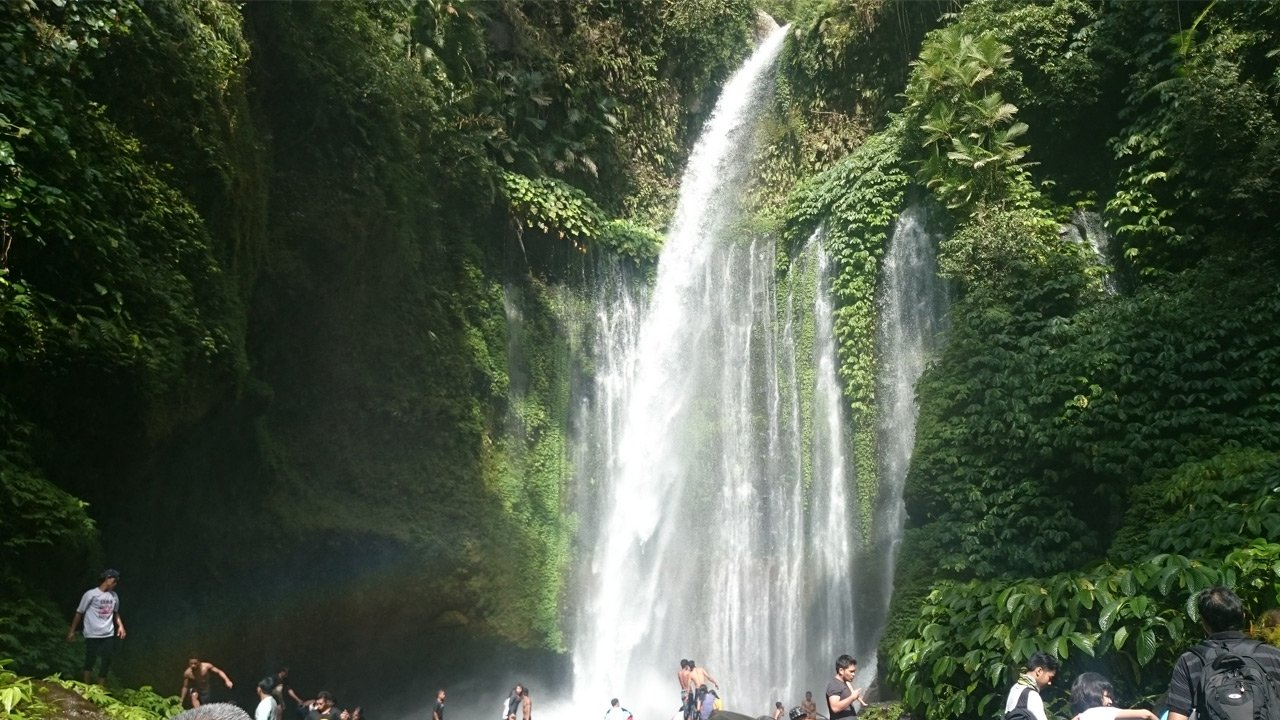 Air terjun Lombok