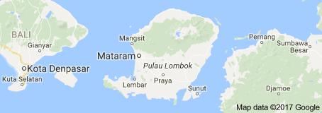 Peta lombok sumbawa
